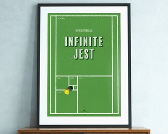 Infinite Jest (David Foster Wallace) poster