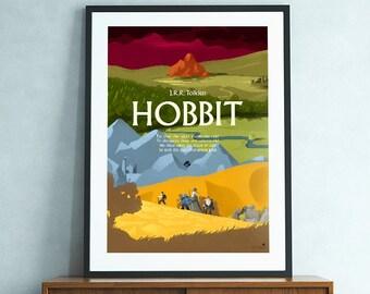 Hobbit (J.R.R. Tolkien) fantasy poster