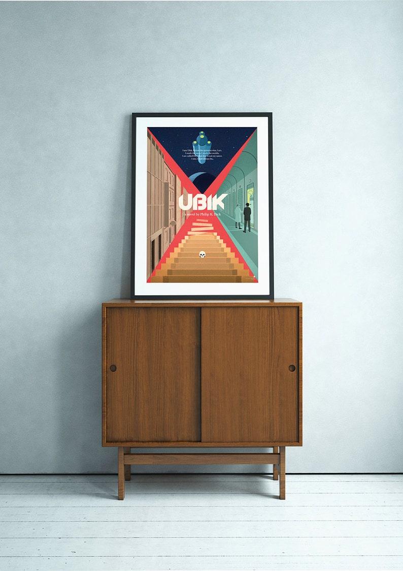 Ubik Philip K. Dick science fiction poster image 0