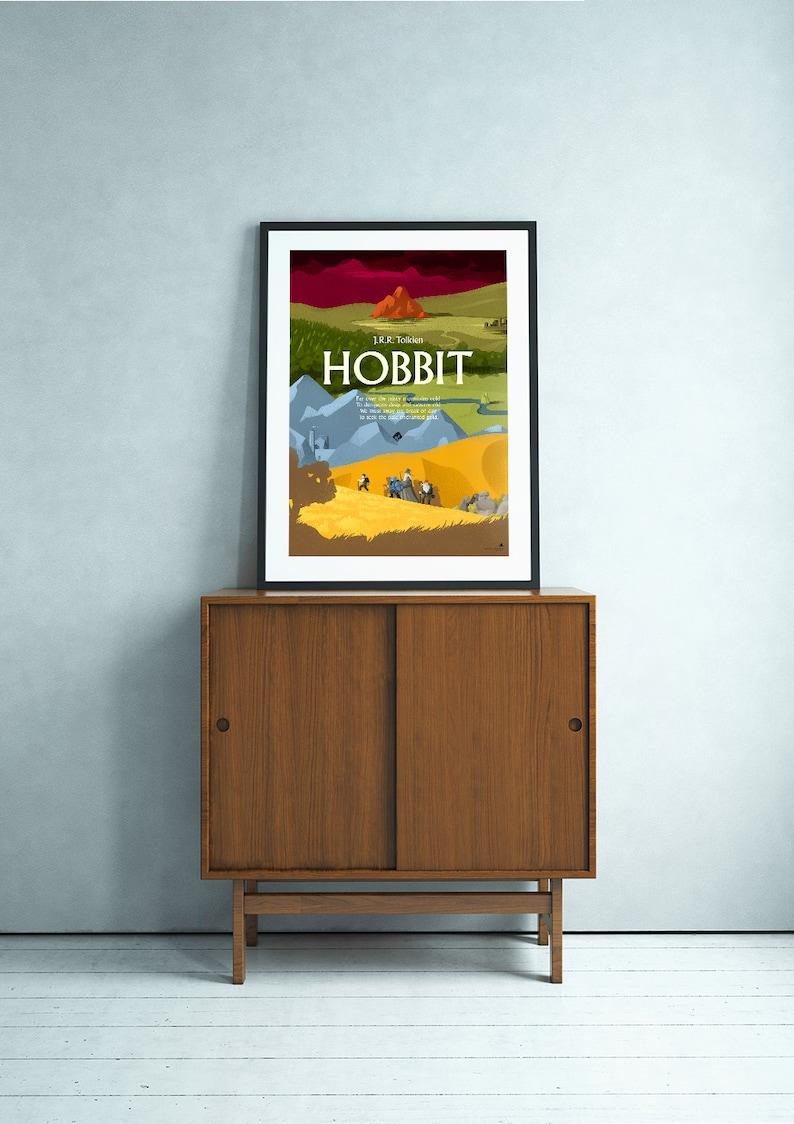 Hobbit J.R.R. Tolkien fantasy poster image 0