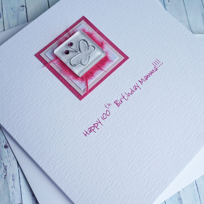 LARGE Personalised Handmade CAT Birthday Card 21st 30th 40th 50th 60th 70th