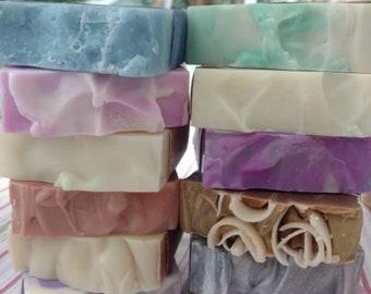 3 Bars of soap, You choose the scent, Handmade Soap, Wholesale Soap, Soap, Natural Soap, Bar Soap, Vegan Soap, Soap Set, Homemade Soap