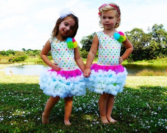 Cotton Candy Party Dress
