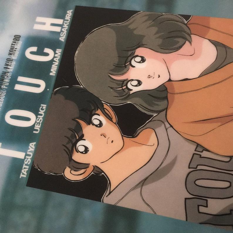 Free shipping Kawaii TOUCH cutting board a manga by Adachi Mitsuru in 80s from Japan