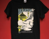 b80fe8bc412ff Mens Brighton Tattoo Convention 2016 Tshirt - artwork by Emily Wood - S /  XXL