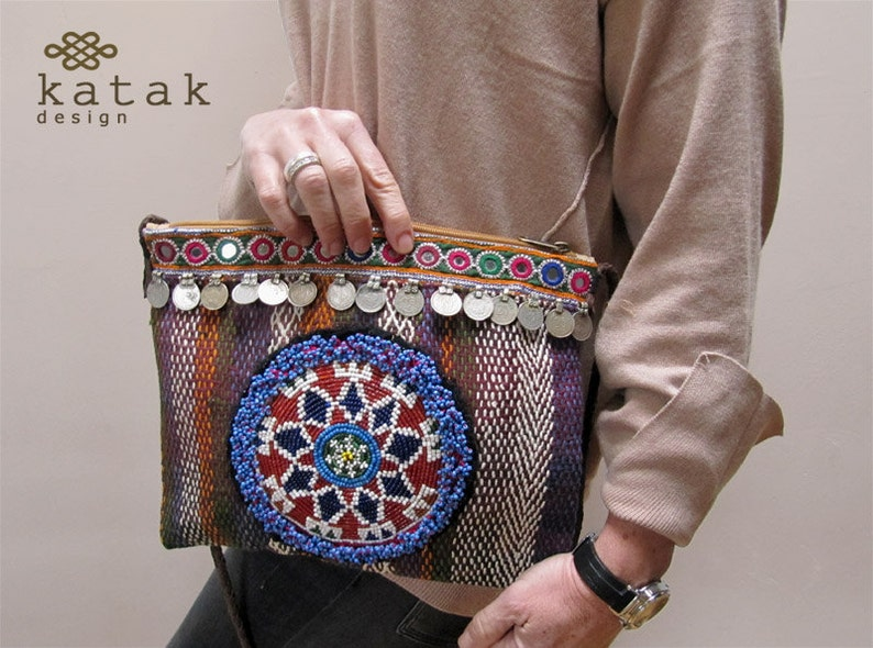 4e39b74275a50 Etniczne Banja torba Vintage haftowane torebka indyjska | Etsy