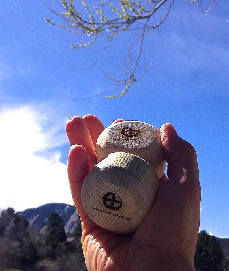 Thera-Tree Massage Tool Colorado Beetle Kill Pine Wood Rolling image 0
