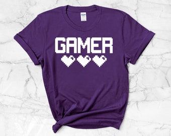 Gamer T-Shirt | Video Games Shirt ∙ Gamer Tee ∙ Video Gamer T Shirt ∙ Video Gamer Tshirt ∙ Gamer Gift
