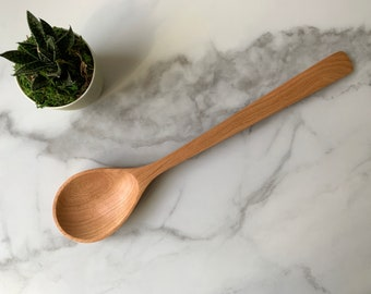 Wooden Cooking Spoon - The Democratic Spoon Design - Made in Maine