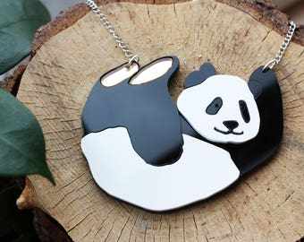 Sammy the panda necklace