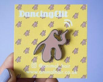 Dancing Clit Pin Badge