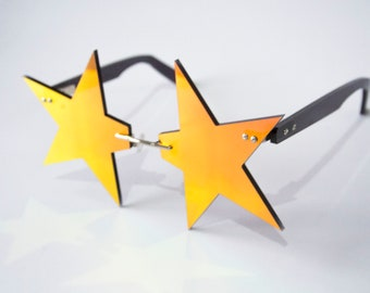Pointed Star Glasses