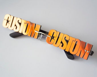 Custom Glasses - Eyewear