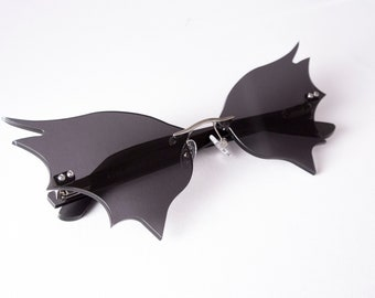 Bat Wing Glasses