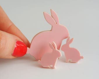 Bunny Rabbit Earrings