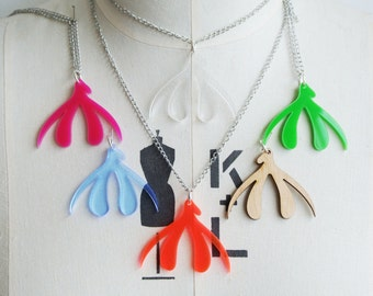 Laser Cut Clit Necklaces for FGM Charity