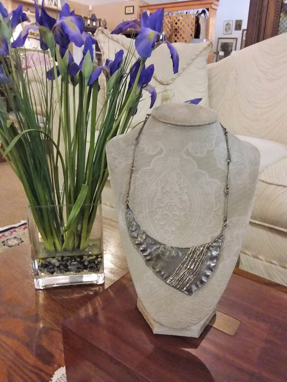 Sterling Statement Necklace