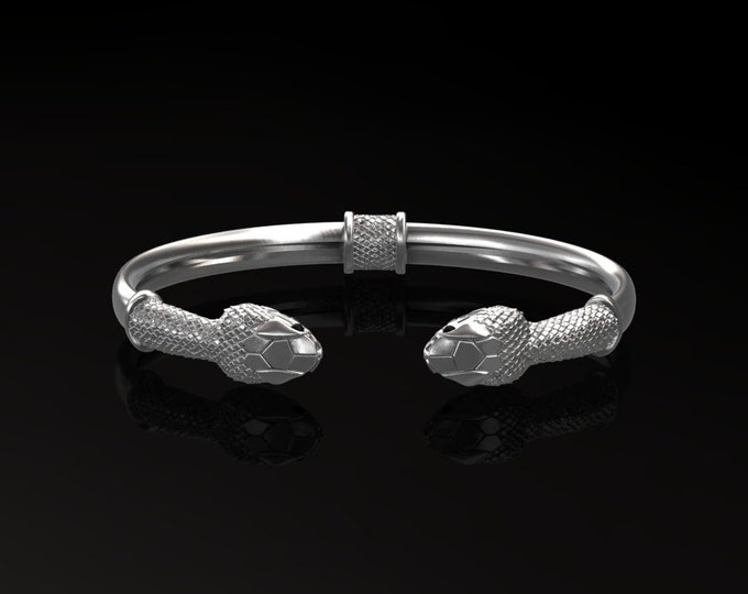 Silver-Bangles Bracelets With Onix Item # BFW-000-X-385
