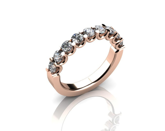 14k Rose Gold Wedding or Engagement Ring with Diamond Item # LAFW-000-X-141
