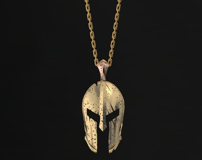 MASK- Pendant-14k Yellow and Rose Gold Classic Pandant with,18 inch chaine, Item # LARFW-000-X-377