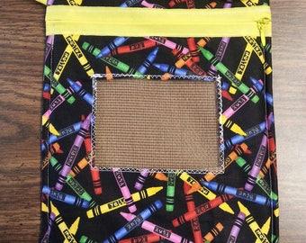 Sugar Glider Bonding Pouch Crayons