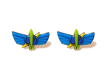 "Pixar Pals Collection ""Star Command"" Buzz Lightyear Astro Blasters Inspired  Toy Story Earrings"