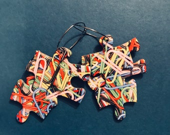 Isolation Puzzle Earrings