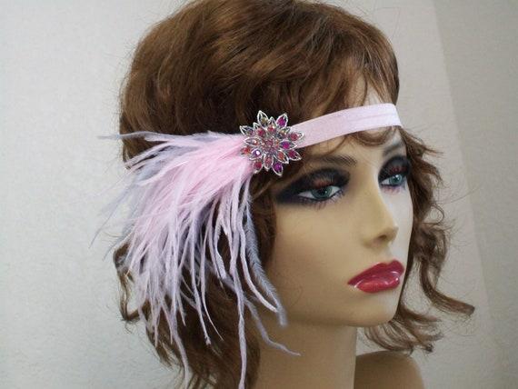 Rose Bandeau Des Annees 1920 Casque De Clapet Gatsby Le Magnifique