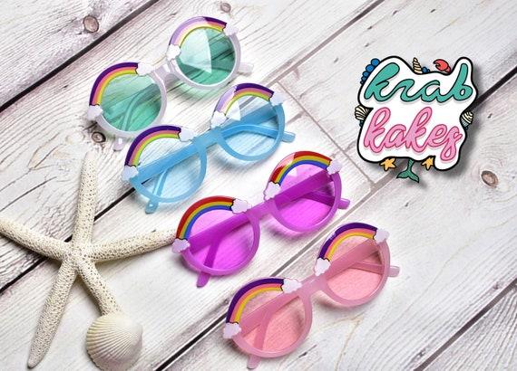 Girls Rainbow Sunglasses.  Toddler sunglasses.  Kids Eyewear.  Each sold Separately.