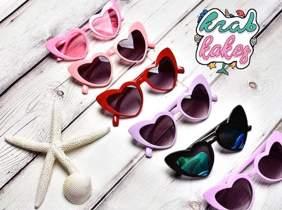 Girls Hearts Sunglasses.  Toddler sunglasses.  Kids Eyewear.  Each sold Separately.