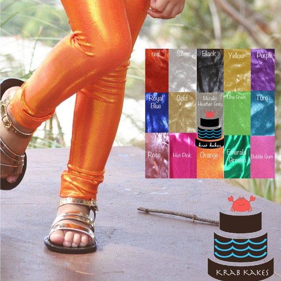 Metallic Leggings Assortment of colors (Each sold Separately)