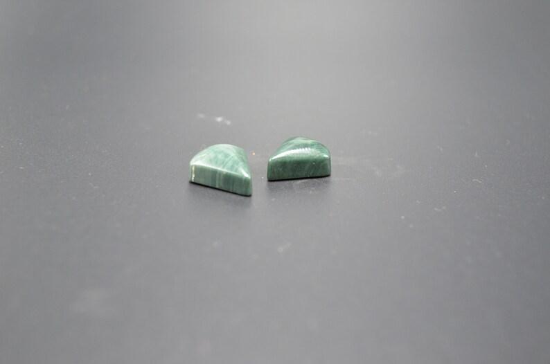 Matching set of ellipso jasper cabochons