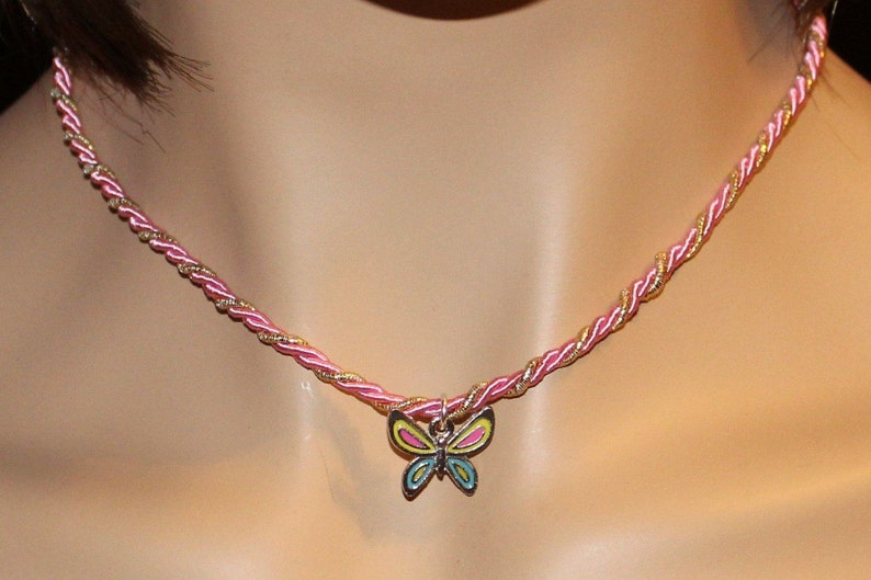 Butterfly Necklace 16 inch image 0