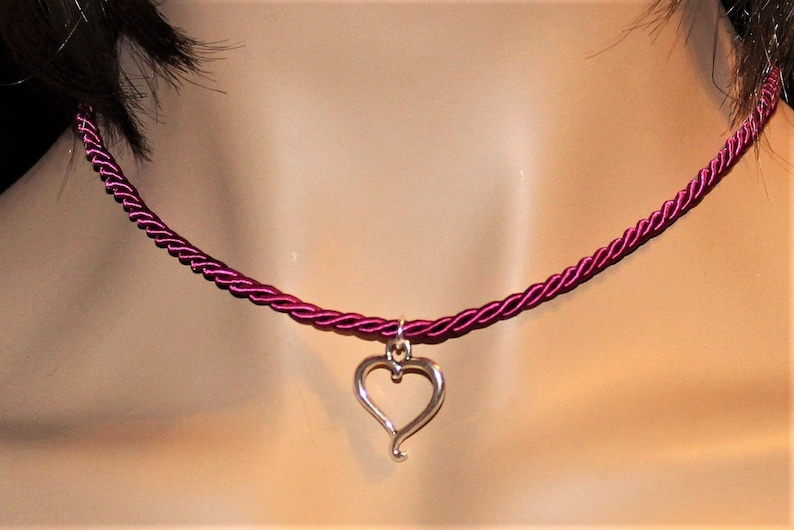 Heart Necklace 16 inch image 0