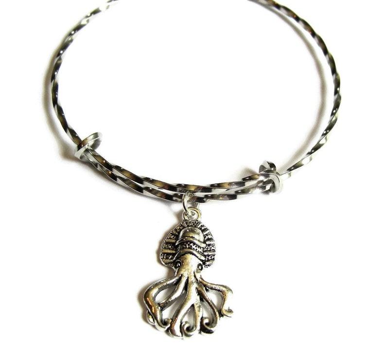 DEEP SEA OCTOPUS Bangle Bracelet image 0