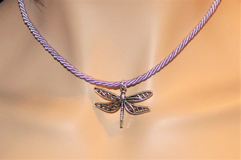 Dragonfly Necklace 16 inch image 0