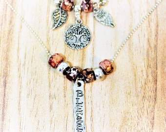 Blessed Boho Layered Necklace/Gift for her