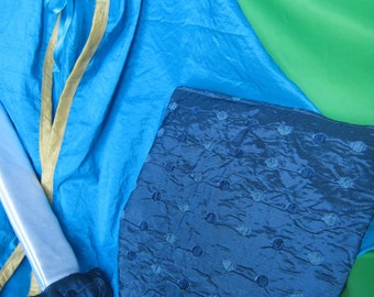 PRICIPE COSTUME for child (Cape, sword, shield) handmade
