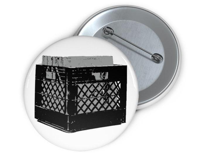 Record Crate Button