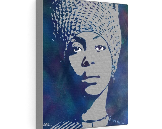 WKiD Canvas Print | Badu