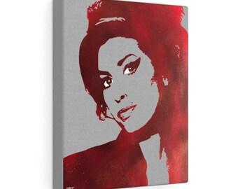 WKiD Canvas Print | Amy Winehouse