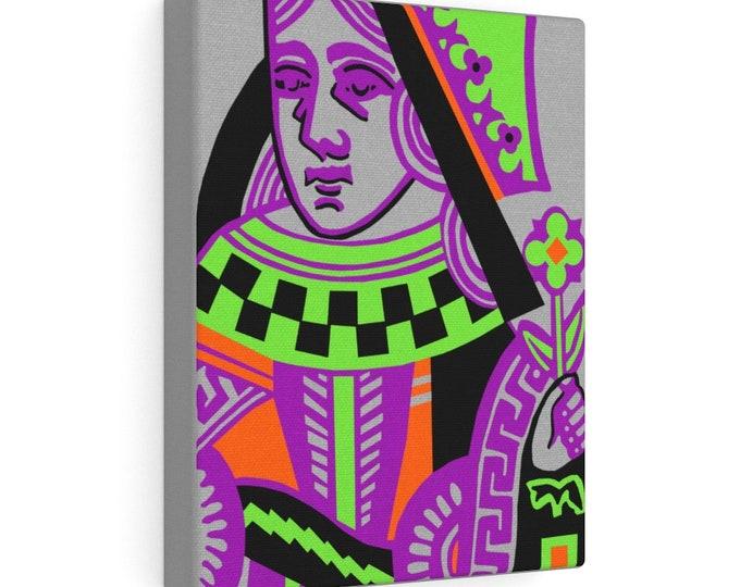 WKiD Canvas Print | Queen of Hearts