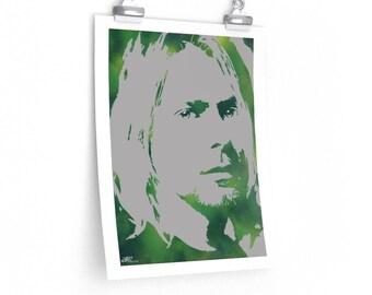 WKiD Premium Matte Print | Kurt Cobain