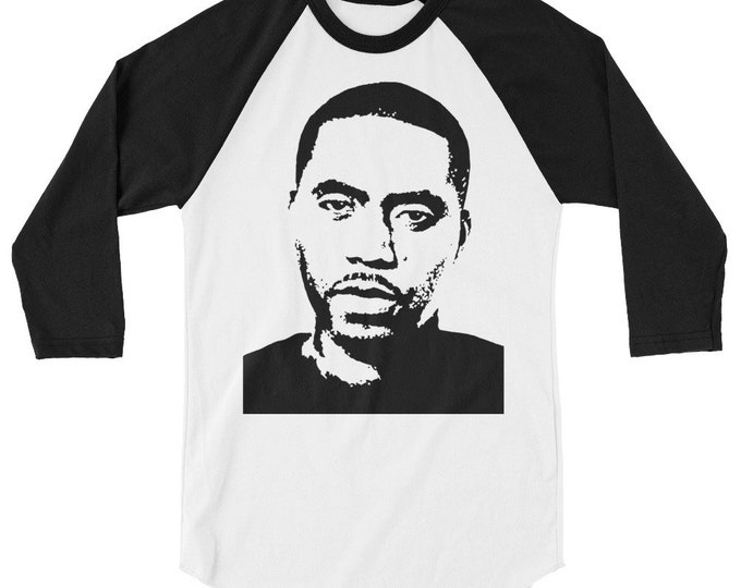 WKiD 3/4 sleeve raglan shirt | Nas