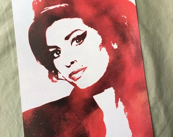 Amy Winehouse 8x10 PRINT