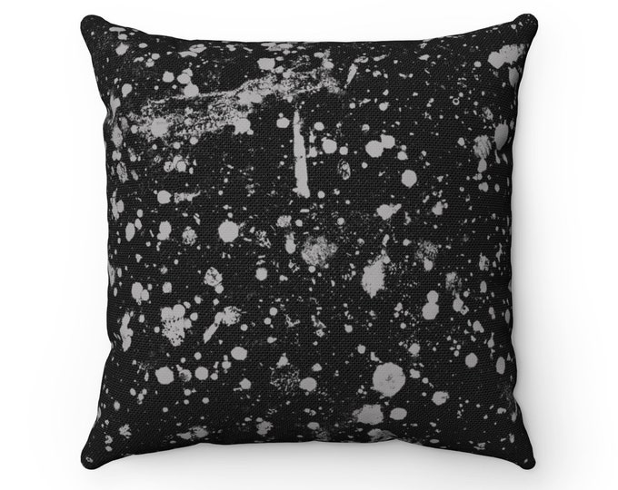 WKiD Pillow | Paint Splatter