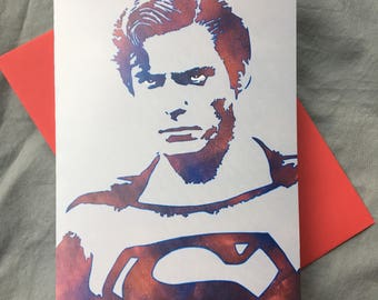 WKiD Greeting Card | Superman
