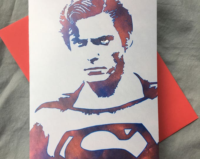 WKiD Greeting Card | Superman