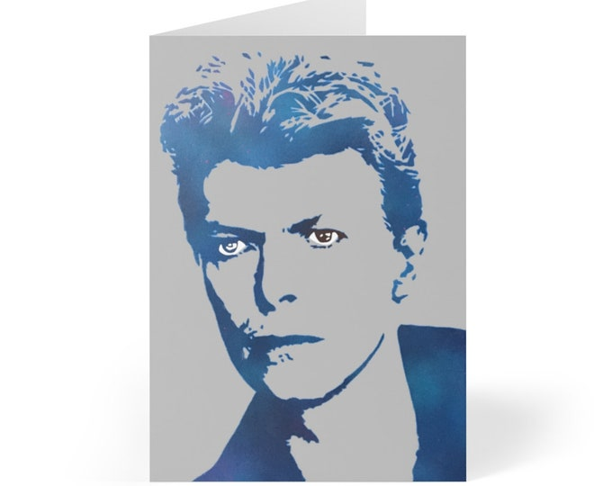 WKiD Greeting Cards (8 pcs) | Bowie