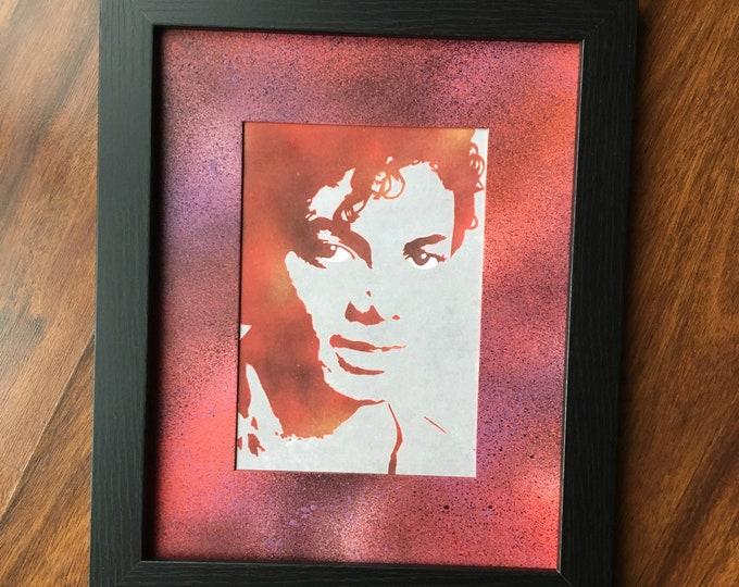 Michael Jackson Framed Art